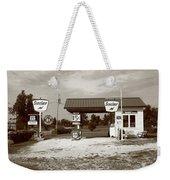 Route 66 Sinclair Station Weekender Tote Bag