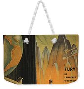 Science Fiction Magazine Weekender Tote Bag by Granger