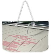 Seismograph Earthquake Activity Weekender Tote Bag