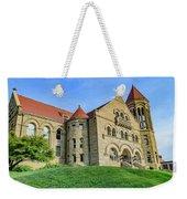 Stewart Hall At West Virginia University Weekender Tote Bag