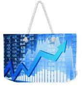 Stock Market Concept Weekender Tote Bag