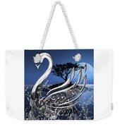 Swan Art. Weekender Tote Bag