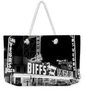 The Las Vegas Strip Weekender Tote Bag