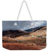 Top View Of Kupup Valley, Sikkim, Himalayan Mountain Range Weekender Tote Bag