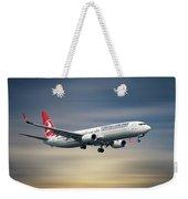 Turkish Airlines Boeing 737-9f2 Weekender Tote Bag