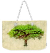 Umbrella Thorn Acacia Acacia Tortilis, Negev Israel Weekender Tote Bag