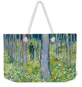 Undergrowth With Two Figures Weekender Tote Bag