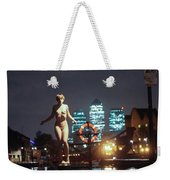 Vincent L Weekender Tote Bag