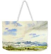 Watercolor Weekender Tote Bag