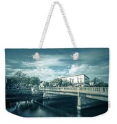 Westerly Is A Town On The Southwestern Shoreline Of Washington C Weekender Tote Bag