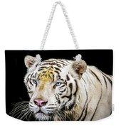 White Tiger Weekender Tote Bag