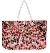 Xxvi Concurs De Castells Weekender Tote Bag
