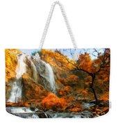 Nature Landscape Oil Painting Weekender Tote Bag