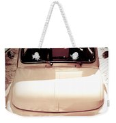 500 Fiat Toned Sepia Weekender Tote Bag by Stefano Senise