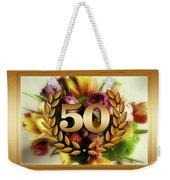 50th Anniversary Weekender Tote Bag