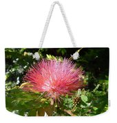 Australia - Red Caliandra Flower Weekender Tote Bag