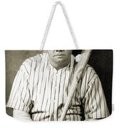 George H. Ruth (1895-1948) Weekender Tote Bag