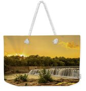 Grand Falls Waterfall Weekender Tote Bag