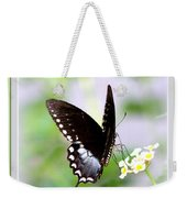 5276-001- Butterfly - Swallowtail Weekender Tote Bag