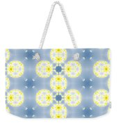 Fractal Floral Pattern Weekender Tote Bag