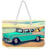 56 Nomad By The Sea In The Morning With Vivachas Weekender Tote Bag