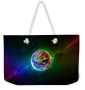 56996 3d Space Scene Colorful Digital Art Earth Weekender Tote Bag
