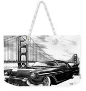 57 Fat Cad Weekender Tote Bag