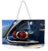 58 Bel Air Tail Light Weekender Tote Bag