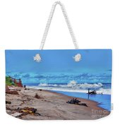 58- Sapphire Surf Weekender Tote Bag