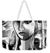595 -  A Face A ... Weekender Tote Bag