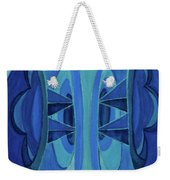 5th Mandala - Throat Chakra Weekender Tote Bag