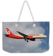 Air Berlin Airbus A320-214 Weekender Tote Bag