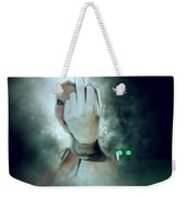An Obscene Hand Sign Weekender Tote Bag