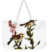 Audubon: Warbler Weekender Tote Bag