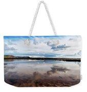 Back Beach - Lyme Regis Weekender Tote Bag