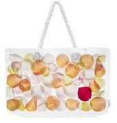 Back Lit Flower Petals  Weekender Tote Bag