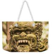 Bali Sculpture Weekender Tote Bag