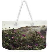 Rose Bush And Dunes Weekender Tote Bag
