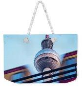 Berlin Tv Tower Weekender Tote Bag