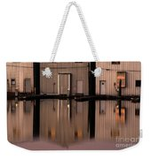 Boathouse Reflections  Weekender Tote Bag