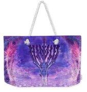 Chanukkah Lights Weekender Tote Bag