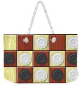 Checkerboard Generated Seamless Texture Weekender Tote Bag