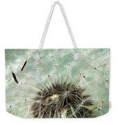 Dandelion Seeds On Flower Head Weekender Tote Bag
