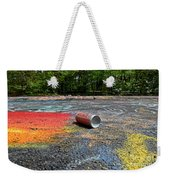 Discarded Spray Paint Can Weekender Tote Bag