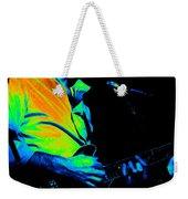 #6 Enhanced In Cosmicolors Weekender Tote Bag
