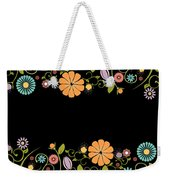 Flower Weekender Tote Bag