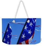 Patriotic Flying Kite Weekender Tote Bag