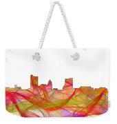 Fort Wayne Indiana Skyline Weekender Tote Bag