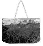 Fresh Snow On Pikes Peak Weekender Tote Bag