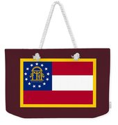 Georgia Flag Weekender Tote Bag